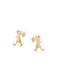 Karen Walker | Runaway Girl Studs - 9ct Gold