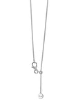 Karen Walker | Mini Runaway Girl  Necklace 45cm - Sterling Silver