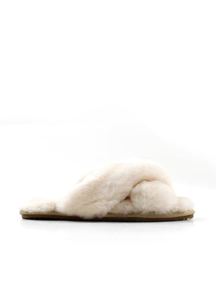 La Tribe | Sheepy Slipper - Ivory