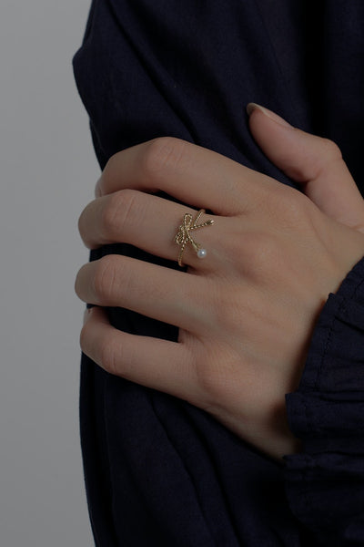 Karen Walker | Love Knot Ring - Sterling Silver