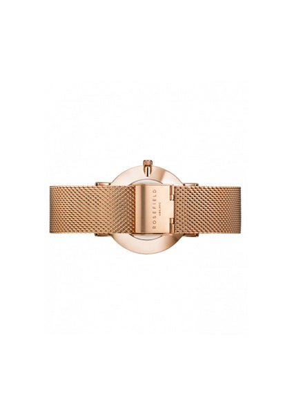 Rosefield | The Mercer - White / Rose Gold