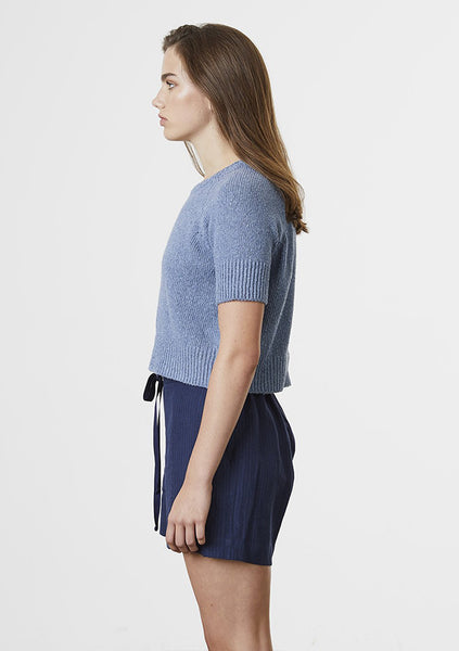 Standard Issue | Linen Short - Navy