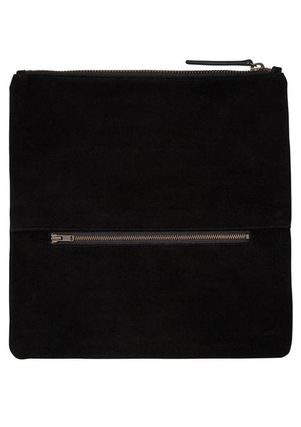 Status Anxiety | Feel The Night Clutch - Black