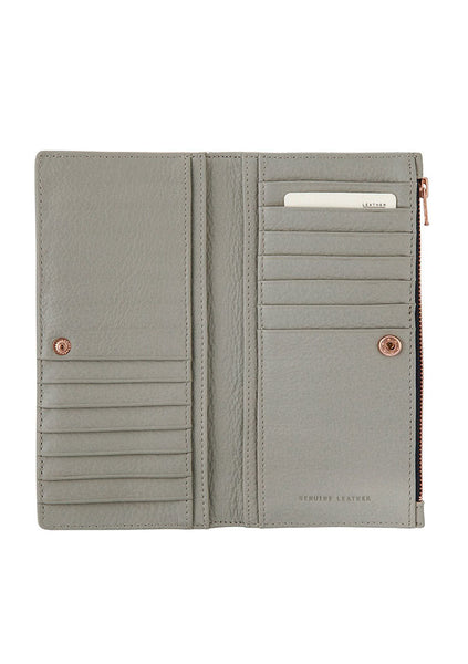 Status Anxiety | In The Beginning Wallet - Light Grey