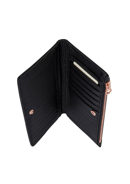 Status Anxiety | In The Beginning Wallet - Black