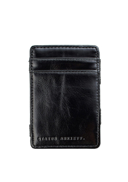 Status Anxiety | Flip Wallet - Black