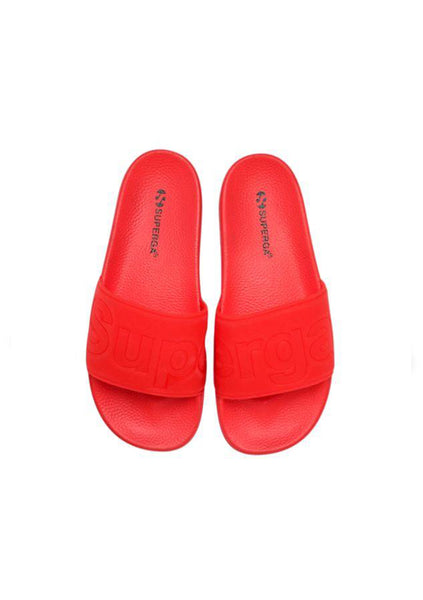 Superga | Pool Slides - Red
