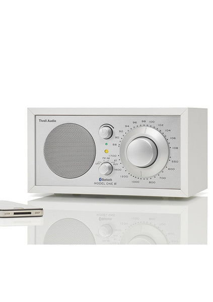 Tivoli | Model One Bluetooth radio - White / Silver
