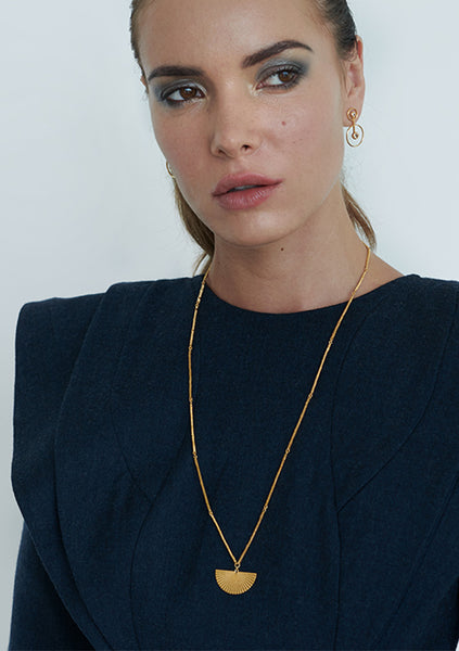 Zoe & Morgan | Saros Necklace - Gold Plated