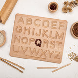 Wooden Teether Elephant Stroller Chain Black - MamimamiHome Baby