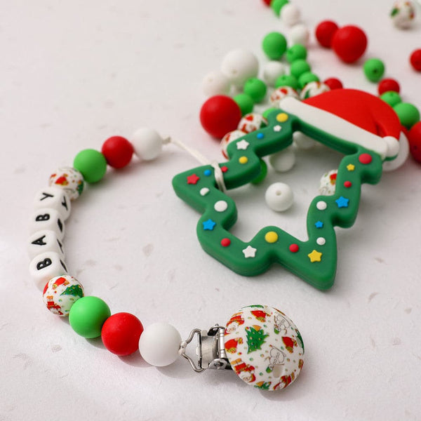 Silicone Teether Christmas Tree - mamimamihome baby