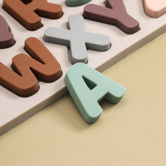 Pink silicone watermelon beads