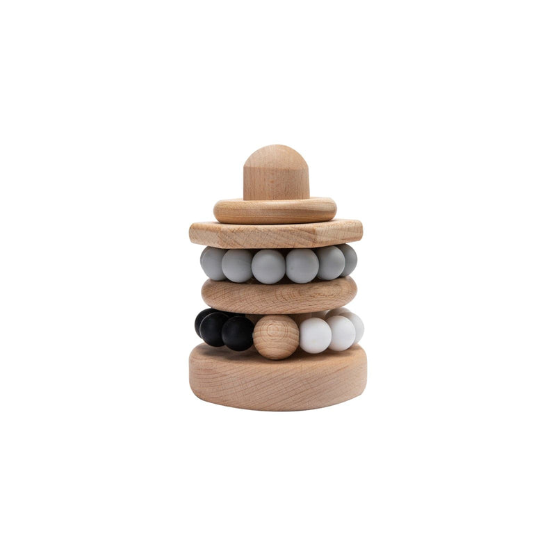 Five-pieces Food Grade Silicone Five-pointed Star Beads
