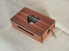 Load image into Gallery viewer, 30-Note Music Box with Heart Design