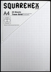 A4 Pad 7mm/3.5mm Squares