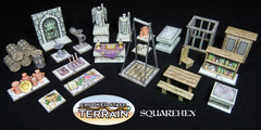 2.5D Dungeon Accessory Set1