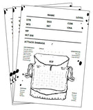 The Black Hack Character Sheets