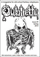 Oubliette Issue 9 Print Edition