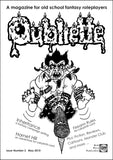 Oubliette Issue 2 Print Edition