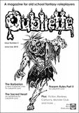 Oubliette Issue 3 Print Edition