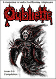 Oubliette Issues 5-8 Compilation