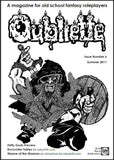 Oubliette Issue 6 Print Edition