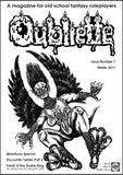 Oubliette Issue 7 Print Edition