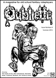 Oubliette Issue 8 Print Edition