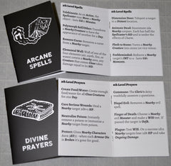 The Black Hack 2nd Edition Spell/Prayer Booklets