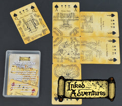 Inked Adventures Map/Dice Cards