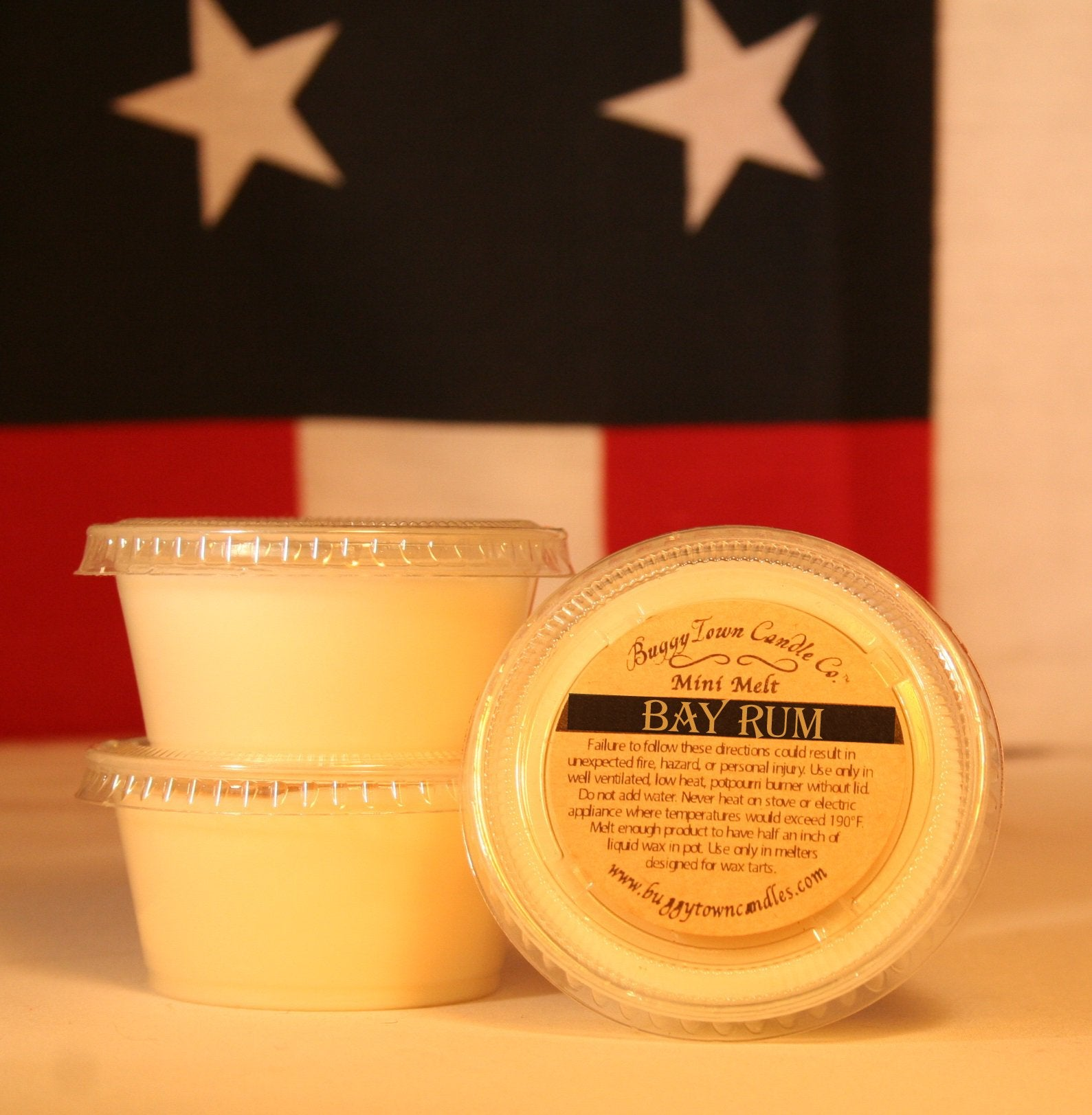 Bay Rum Candles