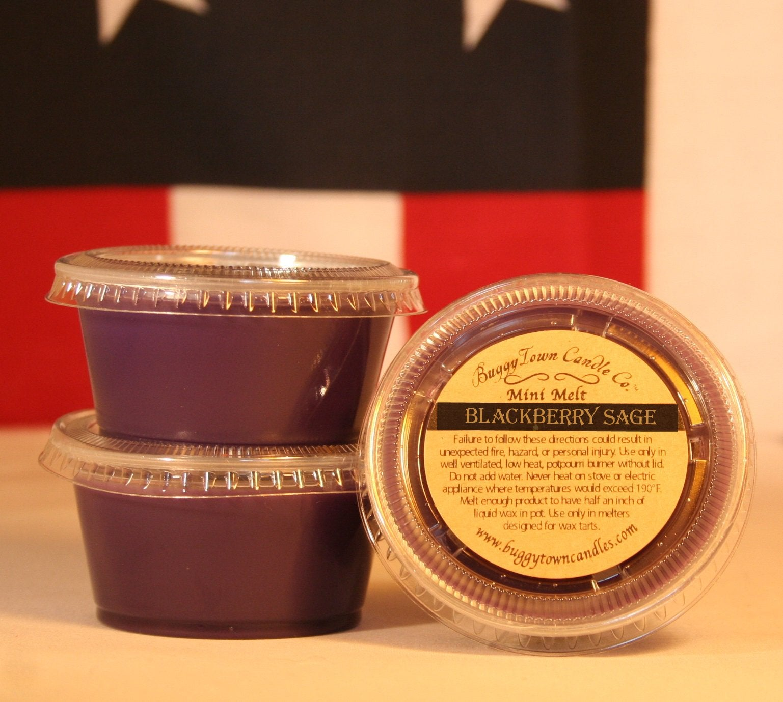 Blackberry Sage Candles