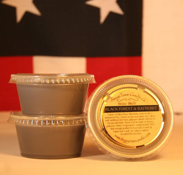 Black Forest & Bayberry Candles