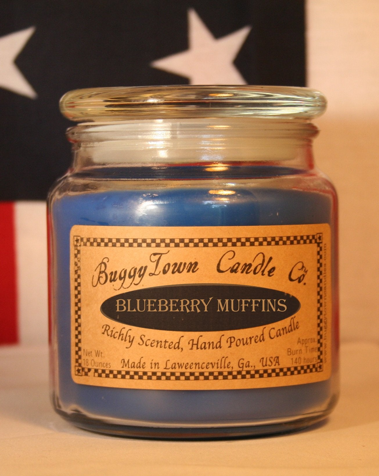 Blueberry Muffins Candles