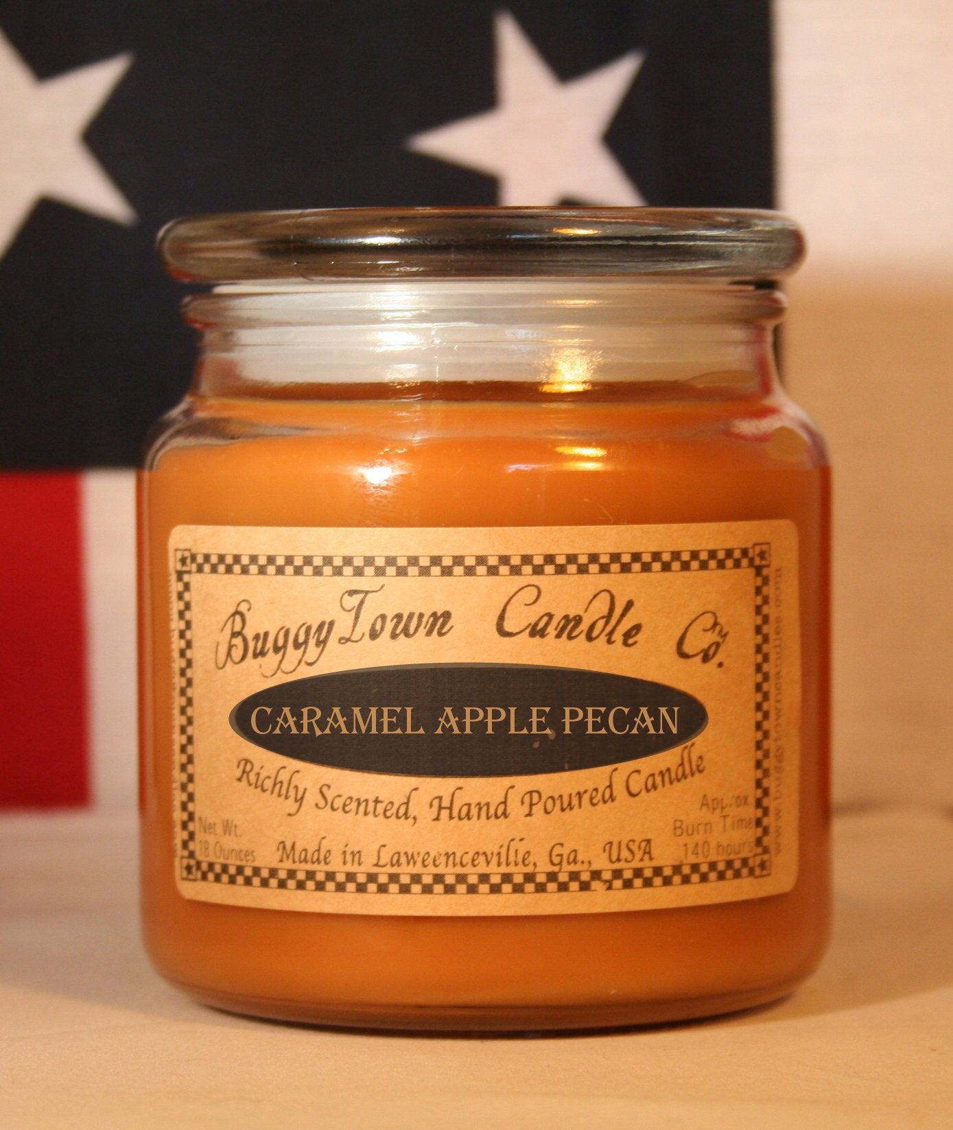 Caramel Apple Pecan Candles
