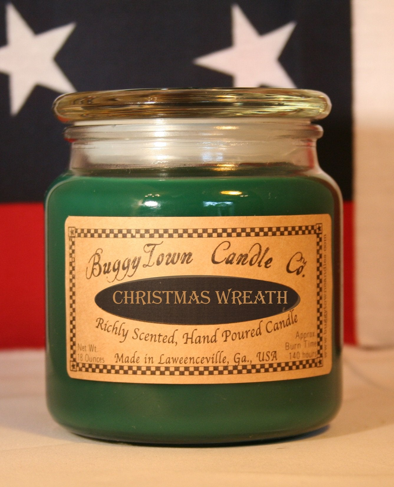 Christmas Wreath Candles