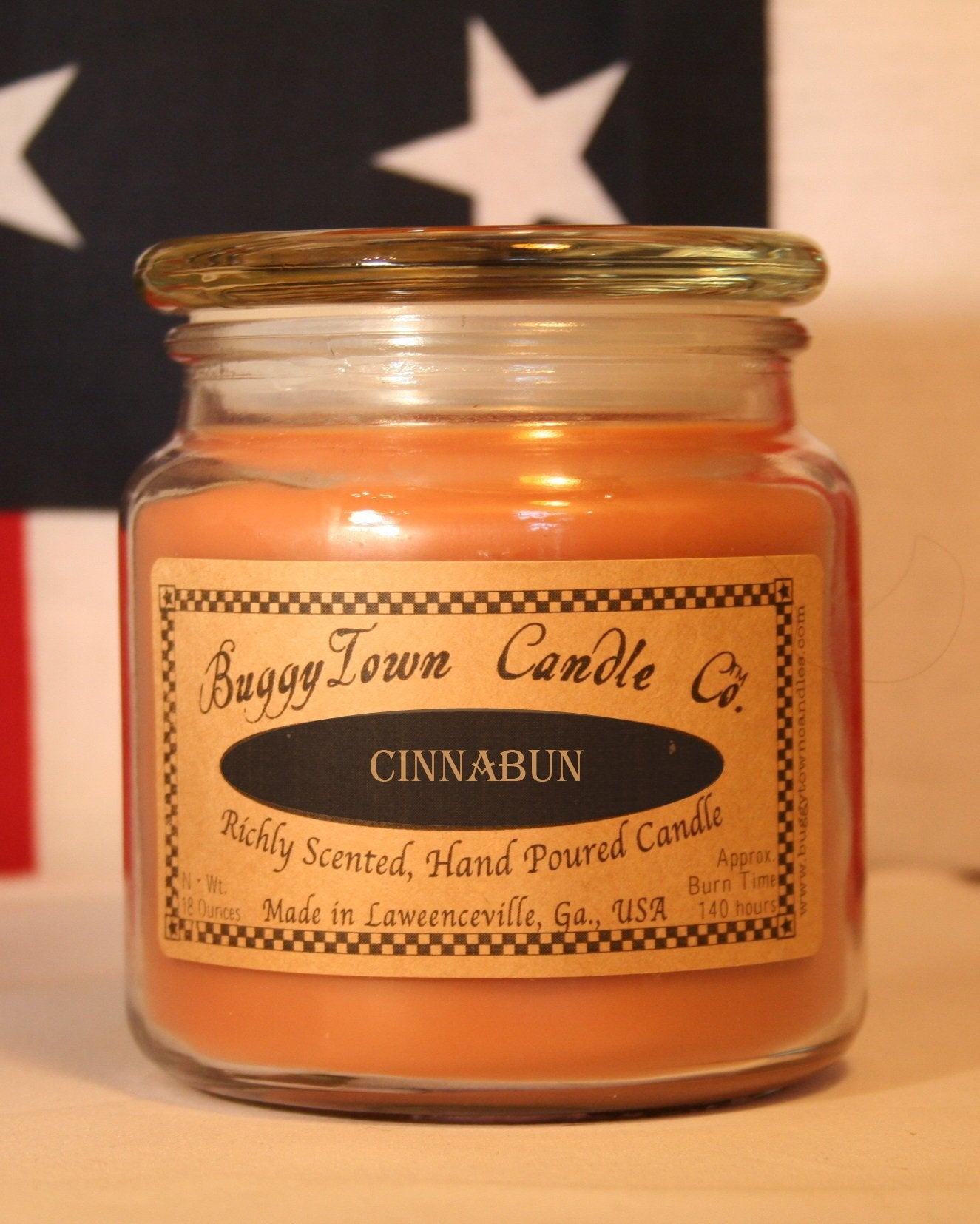 Cinnabun Candles