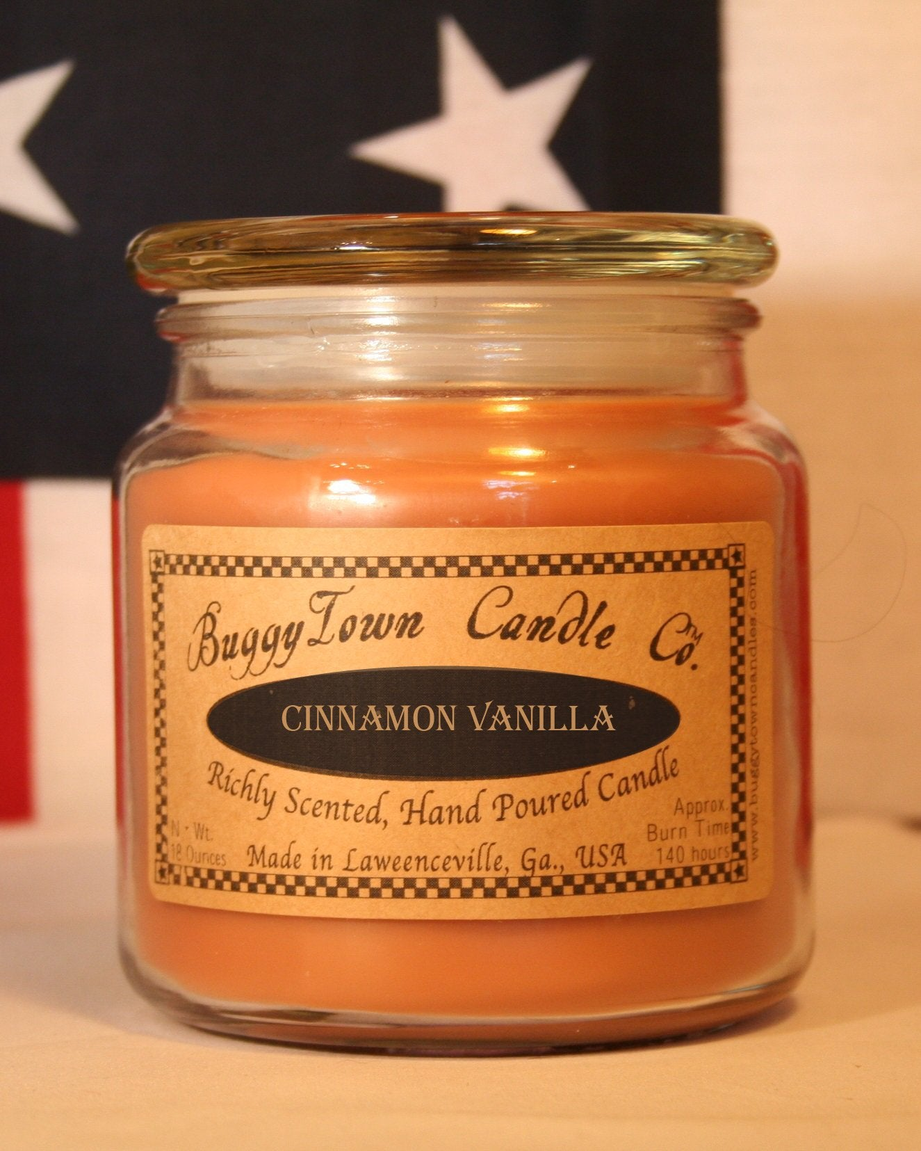 Cinnamon Vanilla Candles