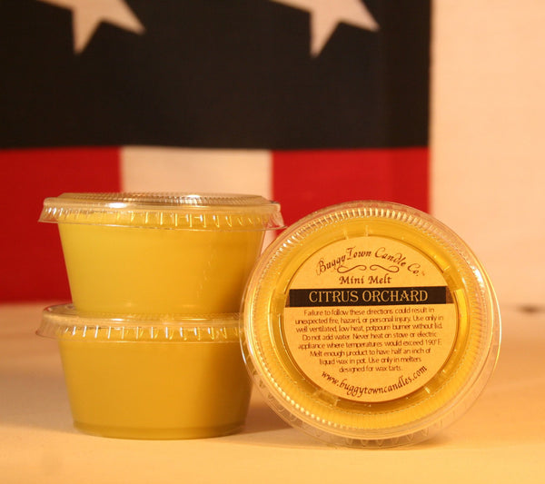 Citrus Orchard Candles