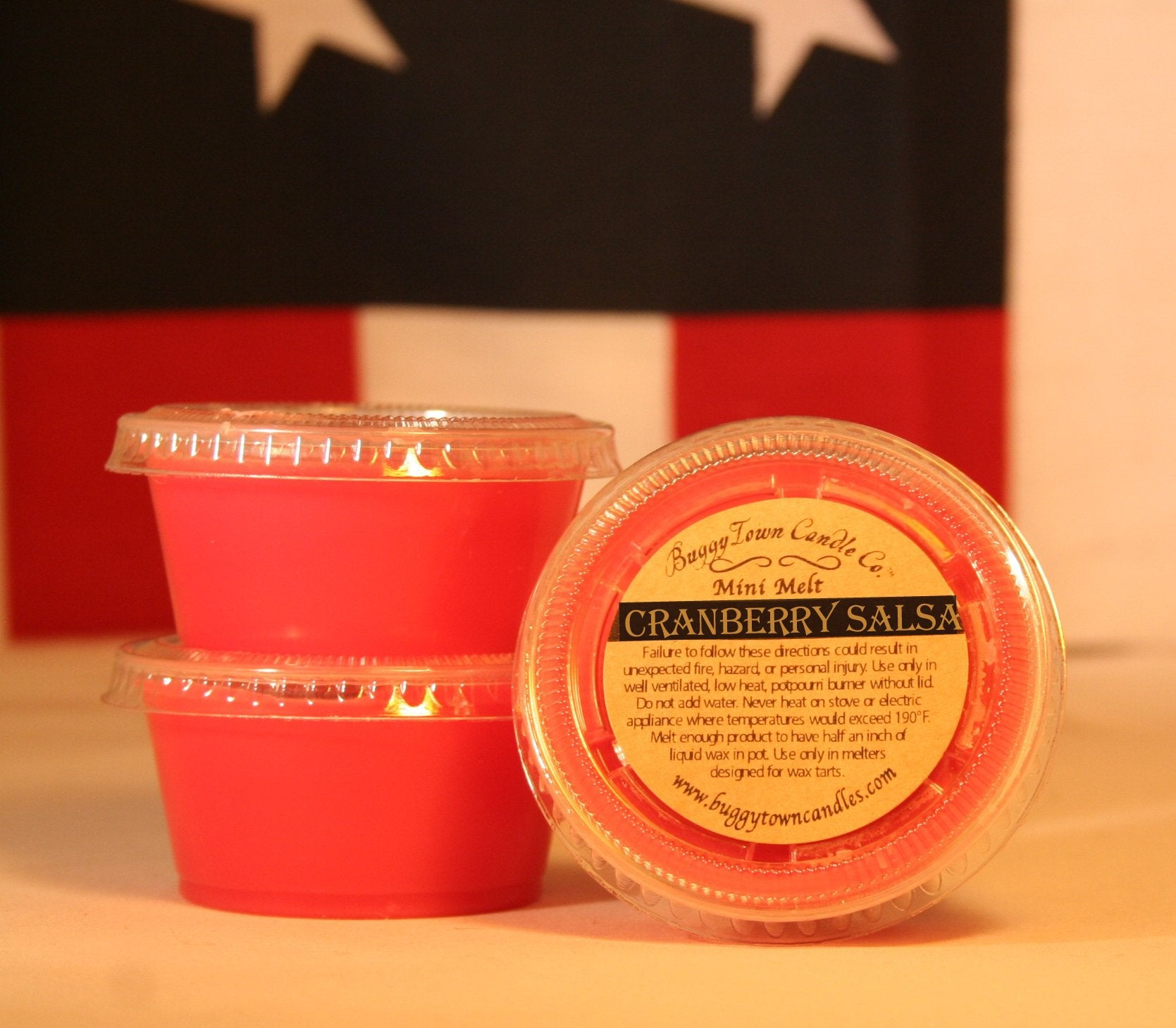 Cranberry Salsa Candles