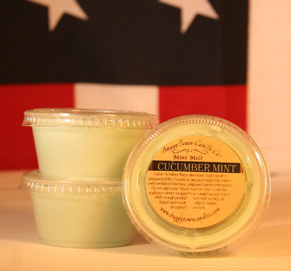 Cucumber Mint Candles