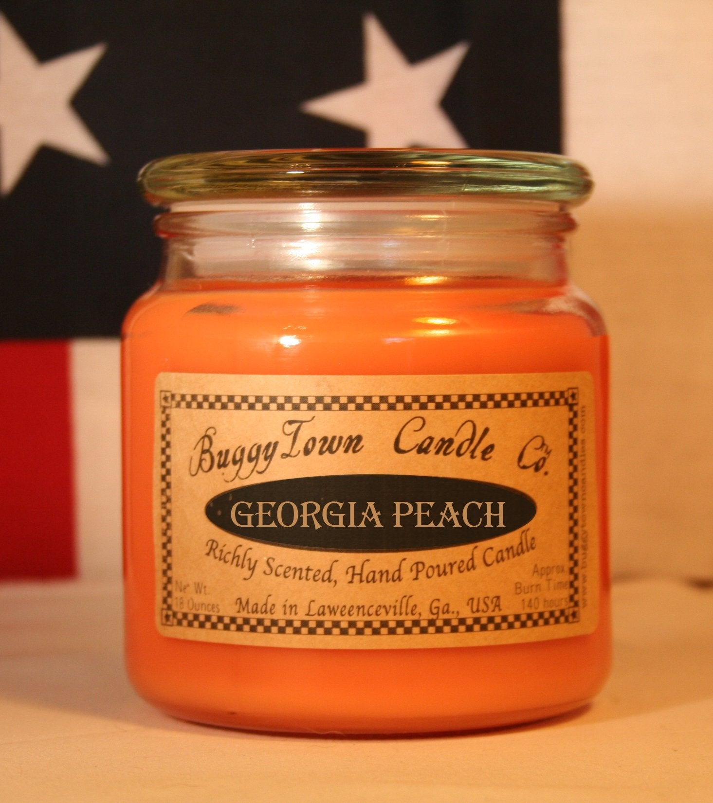 Georgia Peach Candles