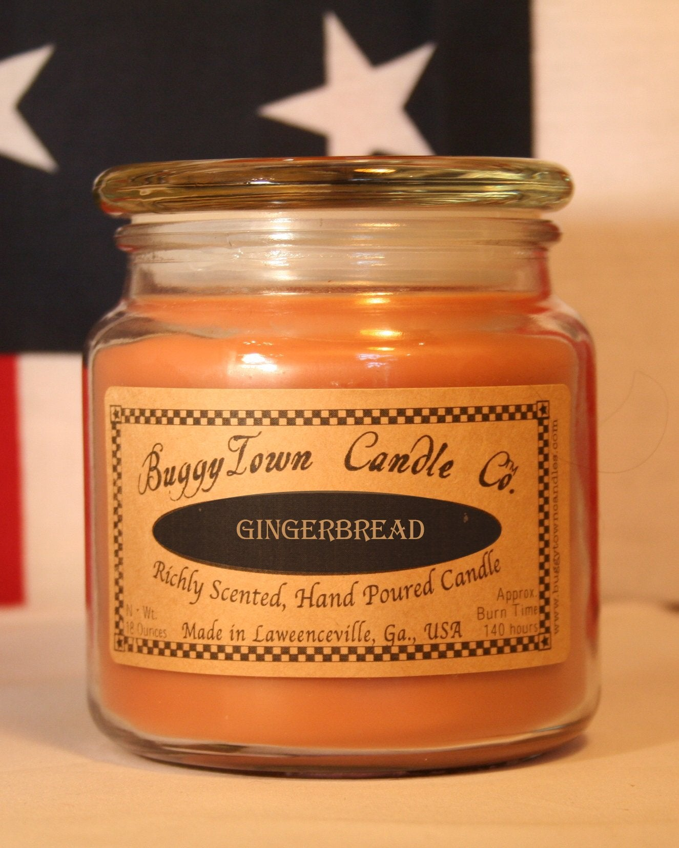 GIngerbread Candles