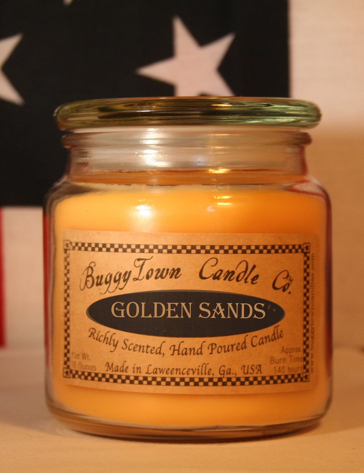 Golden Sands Candles