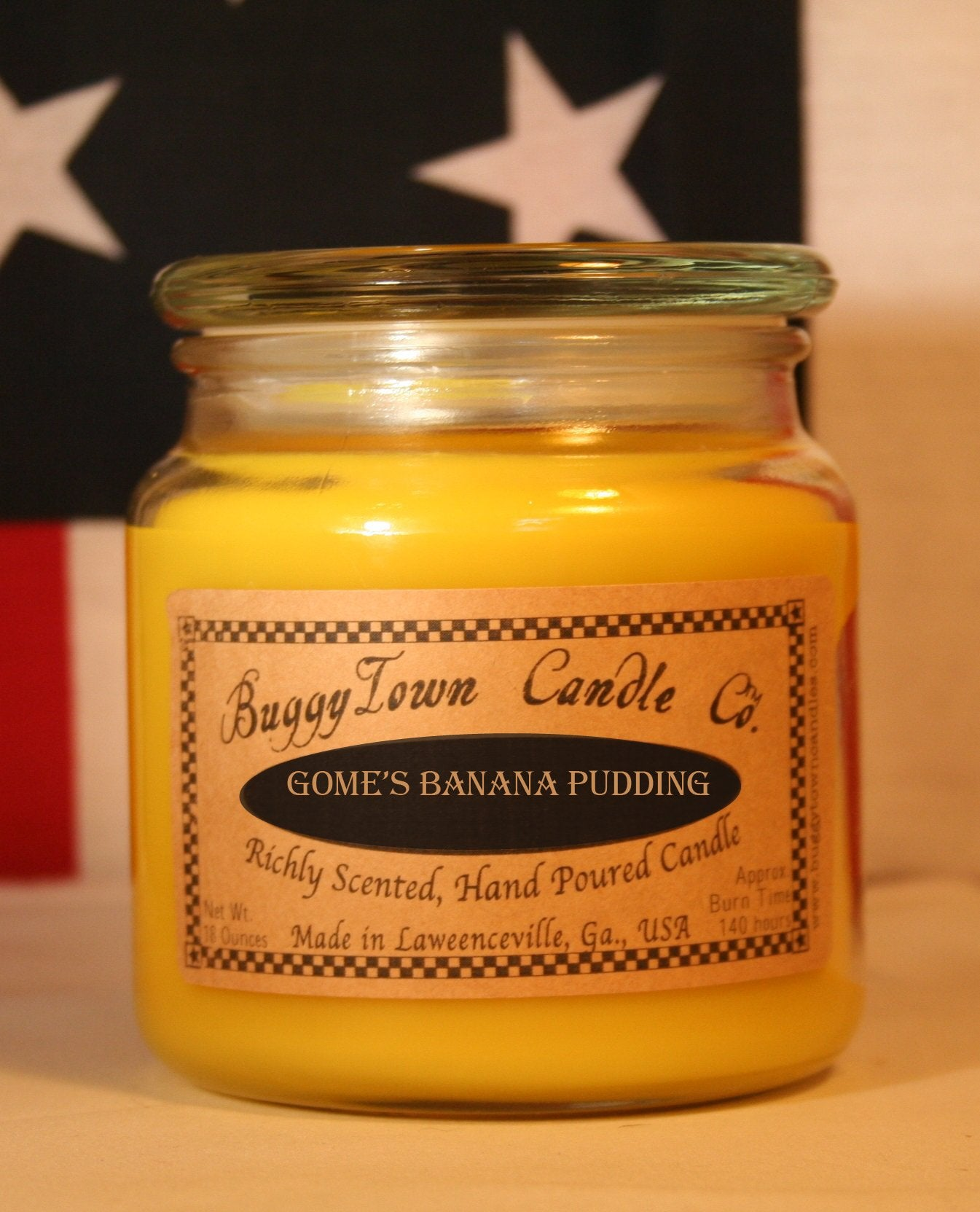 Gome's Banana Pudding Candles