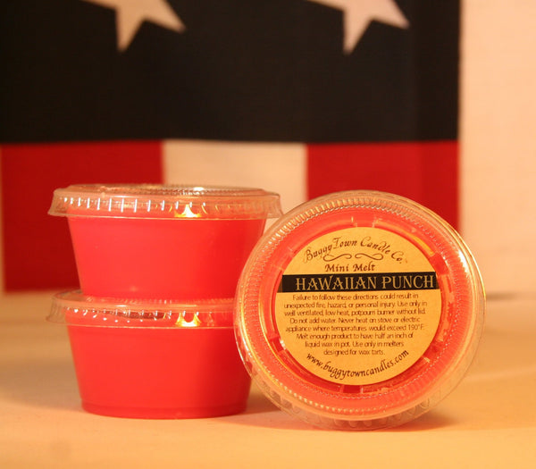 Hawaiian Punch Candles