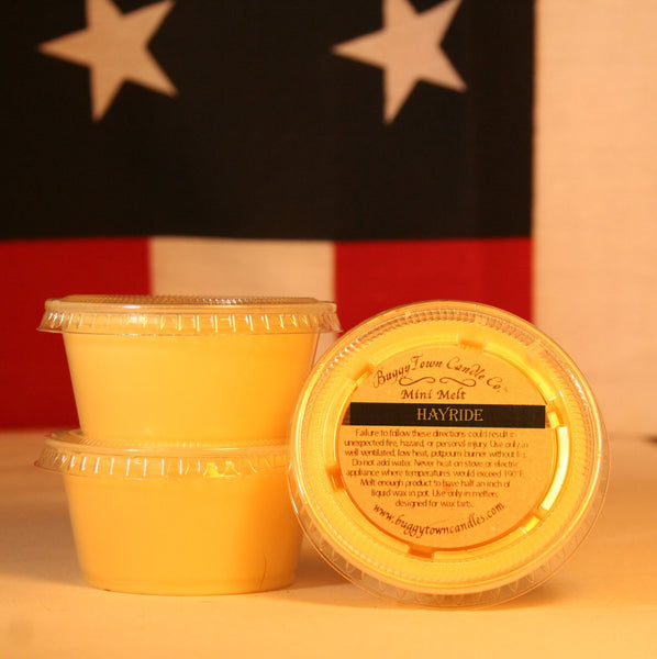 Hayride Candles