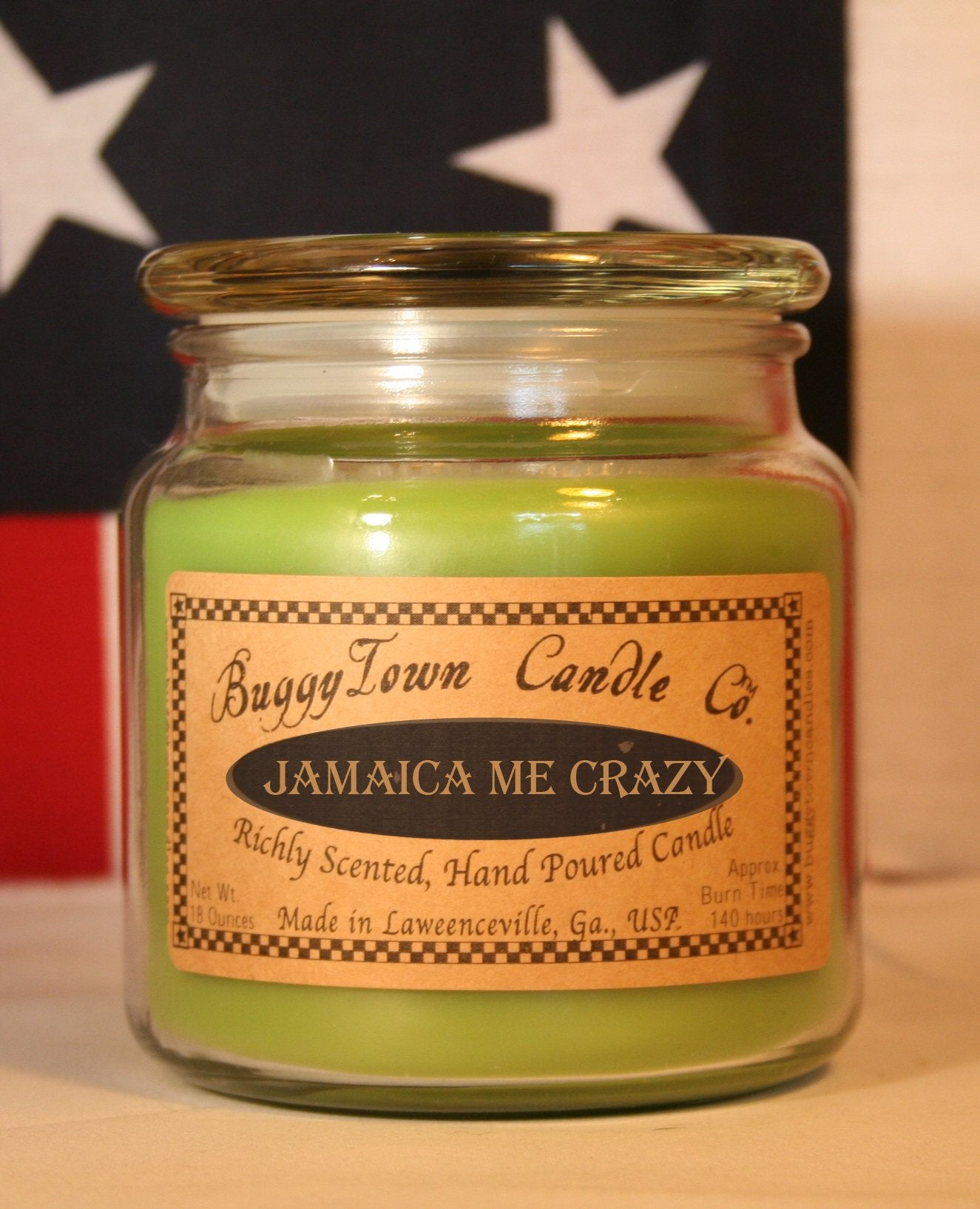 Jamaica Me Crazy Candles
