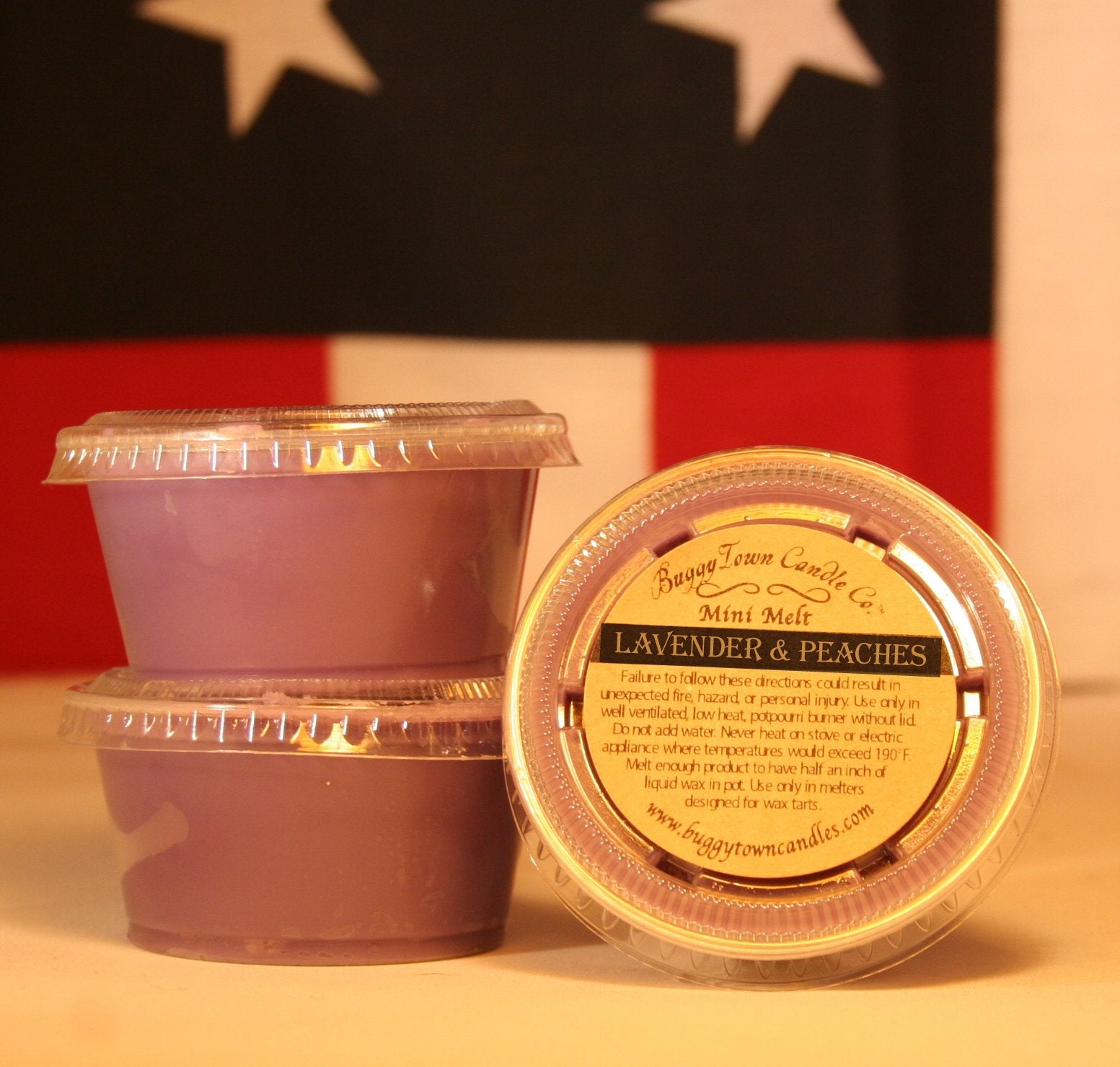 Lavender & Peaches Candles