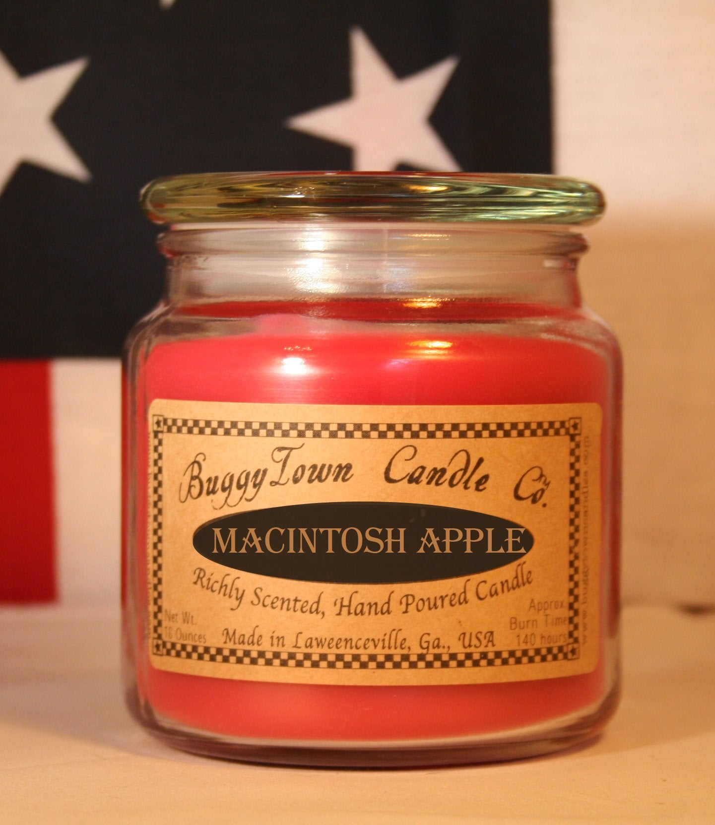 Macintosh Apple Candles